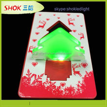 2014 new promotional products novelty items Mini Pocket LED Card Light