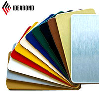 IDEABOND Halogen Free and RoHS Polyester Paint Aluminum Wall Cladding Panel