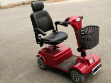 4 wheel out door alloy wheel disability scooter elder buggy