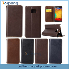Mobile phone case PU Leather magnet Flip cover for samsung galaxy A7 2017