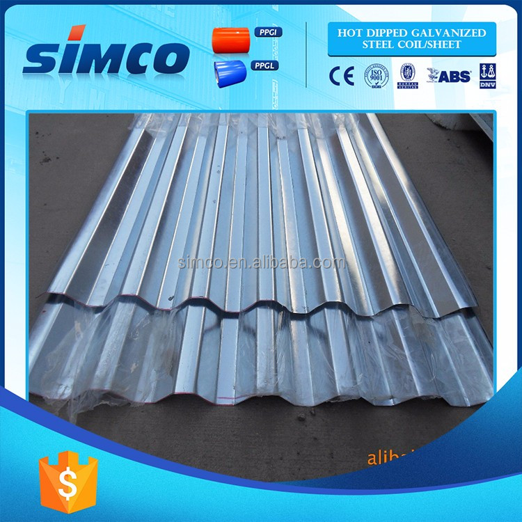 Hot China Products Wholesale prepainted galvanized steel roofing sheet