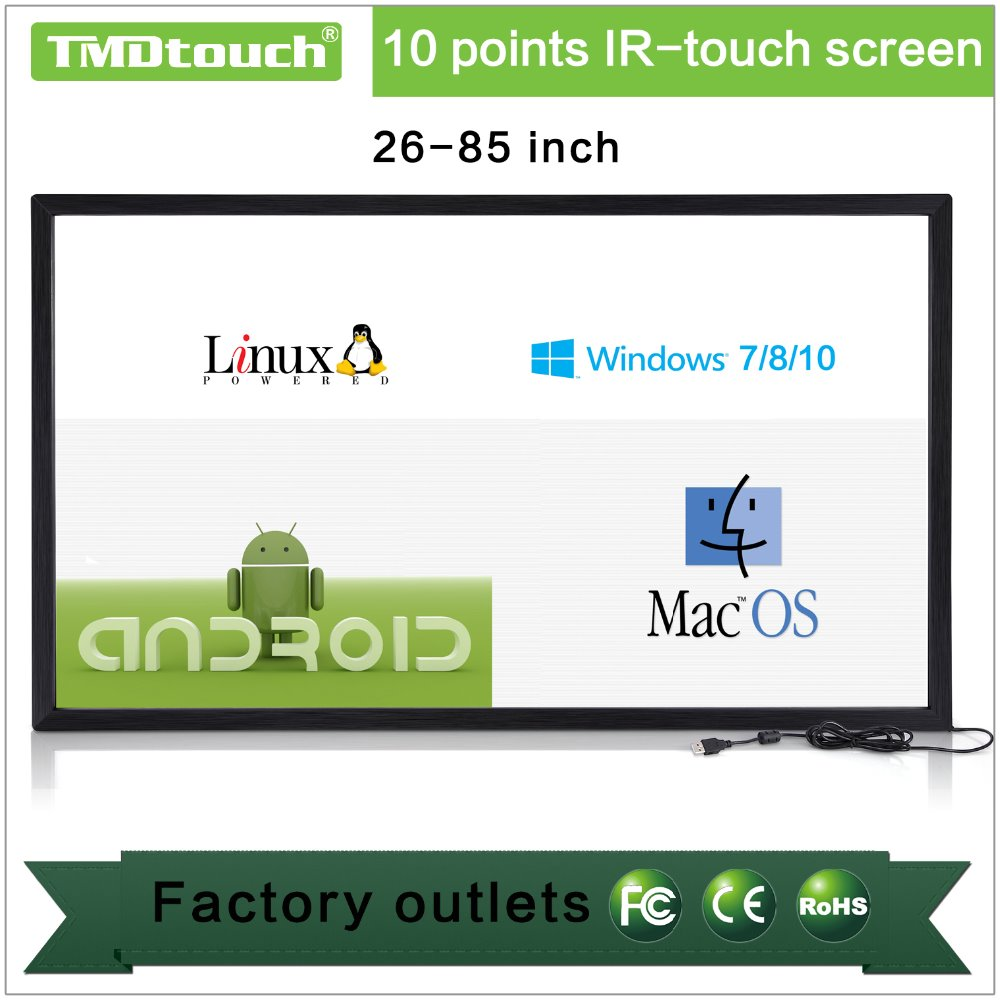 [TMDtouch]65 inch multi touch screen/interactive multi touch table for Digital Signage