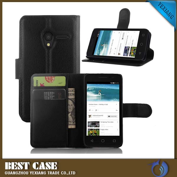 Mobile Phone Accessories Flip Leather Phone Cover For Sony xperia m c1905 c1904