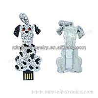 Alibaba china new product Flash disk , Jewelry lovely dog USB drive disk