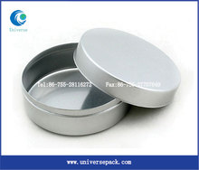 round tin box for cookies