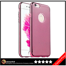Keno New Design Creative Electroplate TPU Phone Case for iPhone5 Case Cover,Hot Sale Bumper Cover for iPhone 6 Plus Soft Case