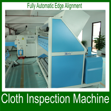 New design fabric inspection and slitting machine/woven cloth inspection table with linear fabric end cutter for factory price