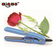 Quality product 12v car plug mini flat iron hair straightener for travel