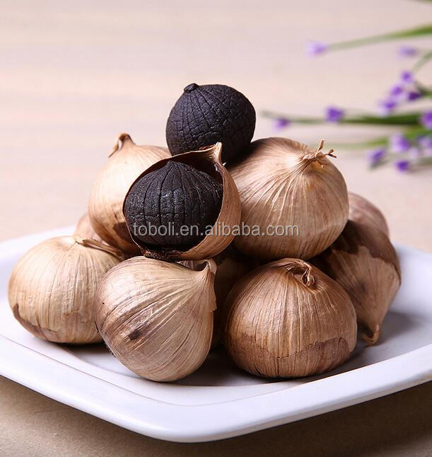 Healthy and organic solo black garlic single clove black garlic