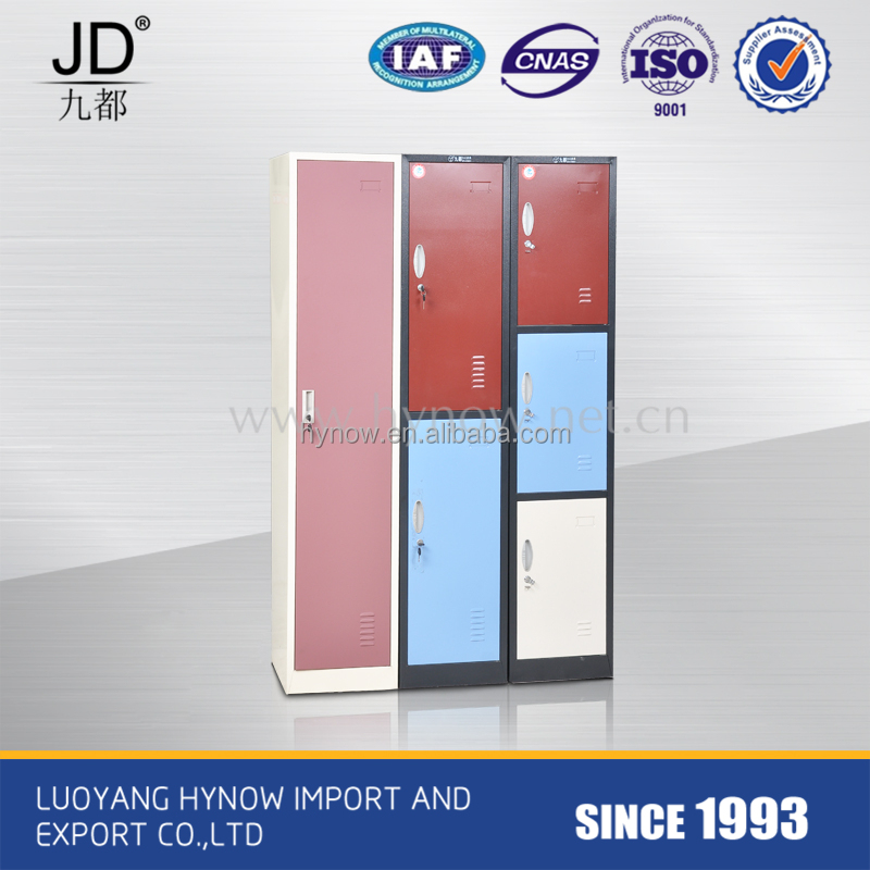 Three tier steel locker for office staff and school students