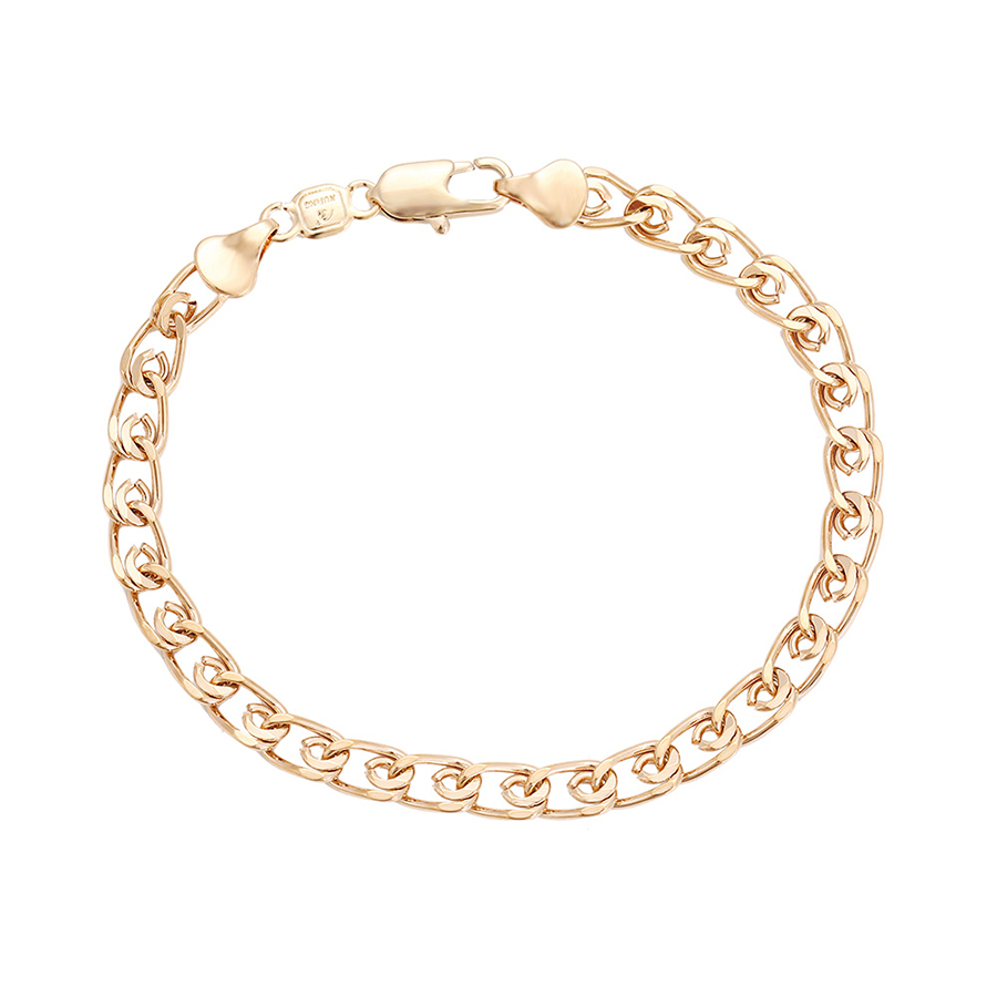 71126-Saudi arabia jewelry gold bracelet hand chain for men