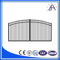 Factory Hot Sale! Aluminum Sliding Fence Gate