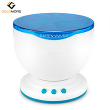 Ocean Sea Wave Night Light Projector and Music Player