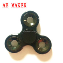 2017 New Hot Matte Tri-Spinner Fidget Toy Plastic Hand Spinner For Autism and ADHD Rotation Time Long Anti Stress