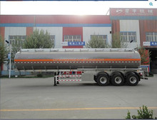 China Factory 30~60cbm Carton Steel Fuel Trailer