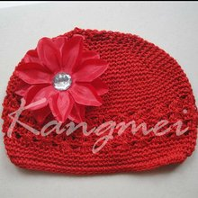 Lovely Kufi Hats with Lily flower