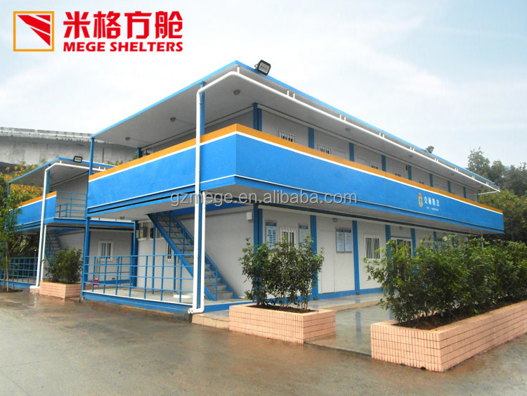 China Prefab Flat Pack Container Homes Modular Transportation Office
