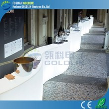 HOT!!! Color Changing LED Table , Light Up Furniture ,Outdoor Bar Counter
