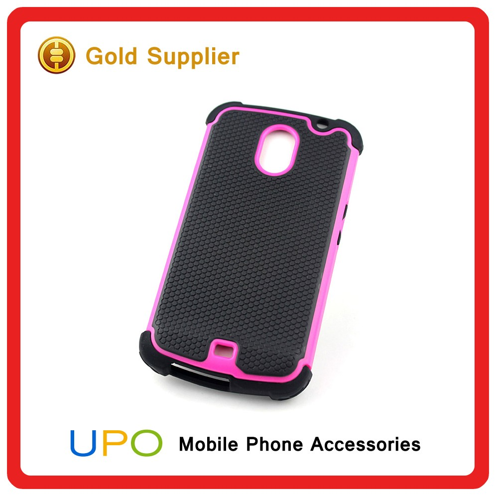 [UPO] High Quality Shockproof Tough Ballistic Hybrid Back Cover Case for Samsung Galaxy Nexus i9250