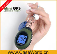 Outdoor Mini Handheld GPS Navigation with mini car keychain personal gps tracker