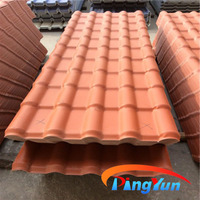 synthetic resin bamboo style roofing tiles 720mm type