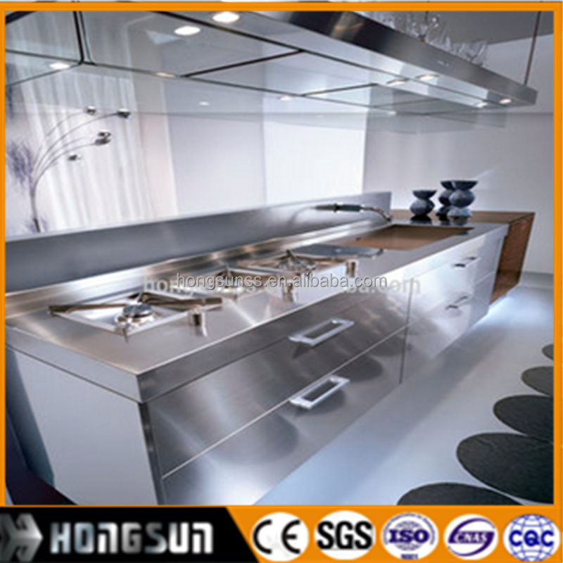 304 Stainless steel decorative sheets for building mirror material price for Kitchen and elevater cabin