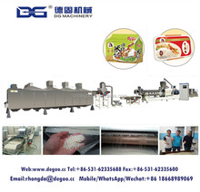 Best price extruding nutritious rice milling machine puffed rice machine