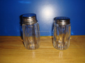 50ML glass spice jar with metal lid
