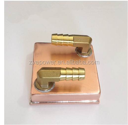 Copper Water Cooling Block Head for CPU Graphics Radiator Heatsink