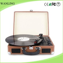 Hot bluetooth vinyl turntable technic CD record player with USB SD Encoder