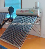 Green professional homemade heater water pump and solar water heaters