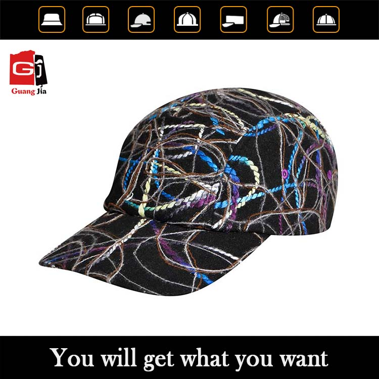 China wholesale factory supply novel design of baseball caps for girls