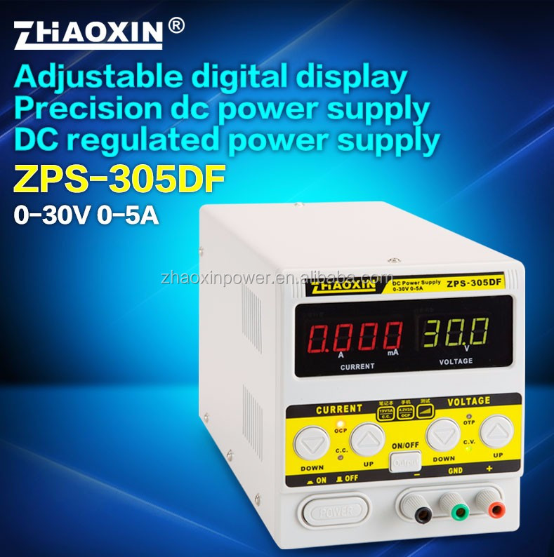 ZHAOXIN ZPS-305DF 30V 5A High quality profession dc power supply factory