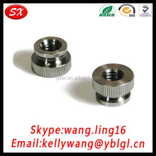 Manufacturing M3M4M5M6M8 Zinc Plated Carbon Steel Knurled Thumb Nut