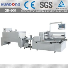 Automatic Cake Tray Cardboard Paper Card Shrink Packing Machine