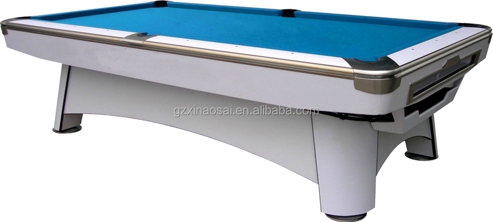 High Quality Billiard Accessories 9ft Solid Wood Slate Golden Carving Snooker Billiard Pool Table