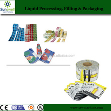 Clear PVC Heat Shrink Plastic Film For Drinking Bottle Packaging Labels