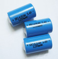 3.6v lithium battery 1/2aa er14250 1200mAh lisoci2 batteries for meters