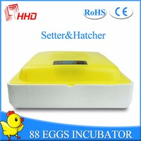 New Arrival Economical Circulated Thermal Air HHD Foam chicken egg incubator for sale philippines YZ-88B