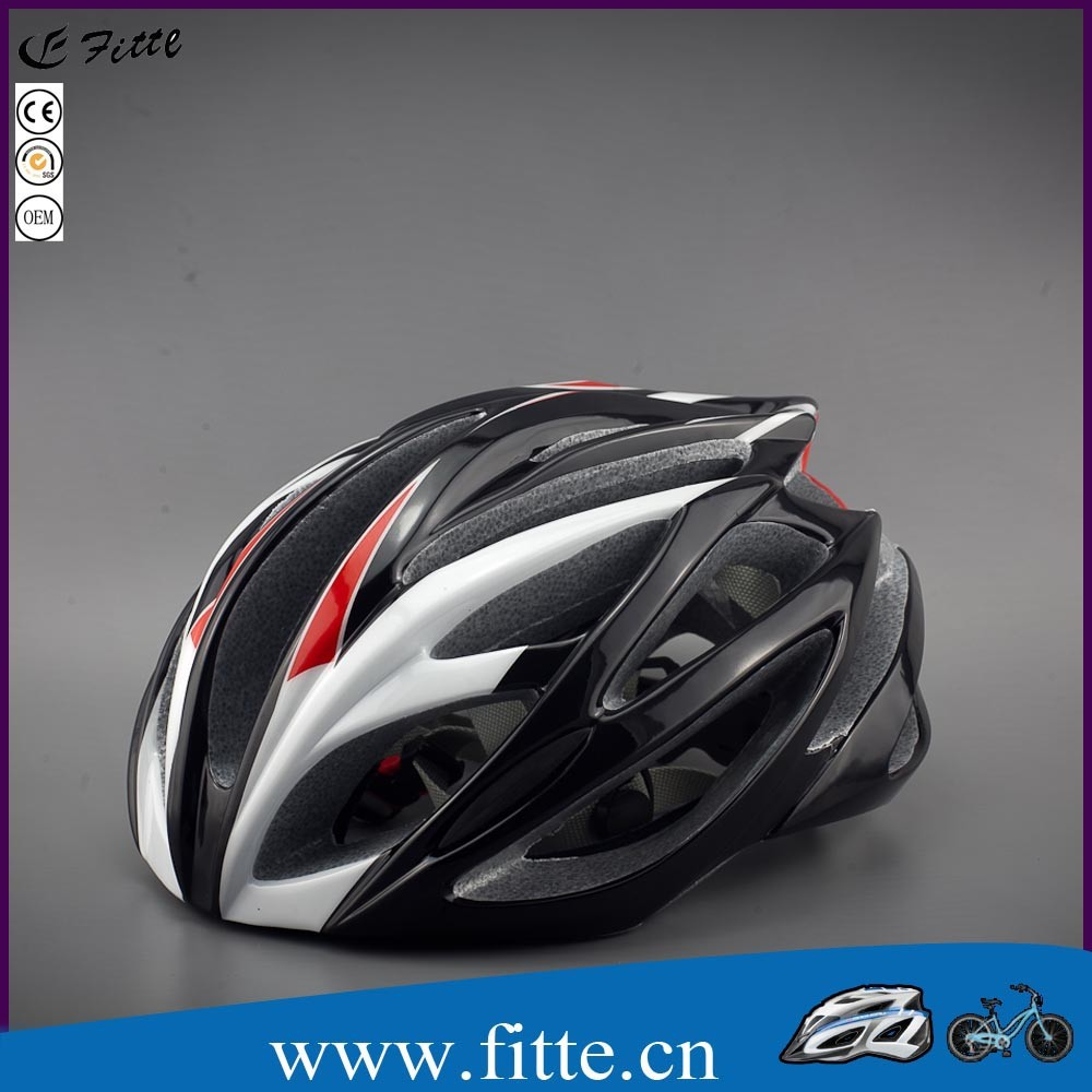 High quality best sell in mold process bell bike helmet