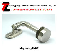Hot modern adjustable handrail brackets/pipe handrail brackets with top quality