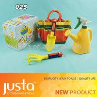 Garden gift saw hand tool plastic kids garden tool set