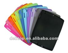 Soft Silicone skin Back case cover For Apple iPad 2