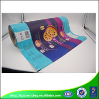 Gravure Printing And Laminated Plastic Flexible Composited Film Roll