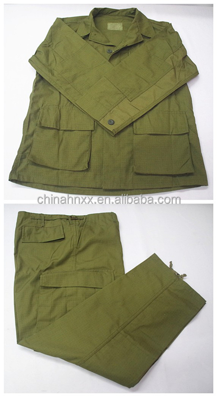 Olive Green BDU Uniform Suit