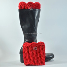 Many Colors - Cute & New- Women's Handcrafted Crochet Boot Cuffs/Toppers