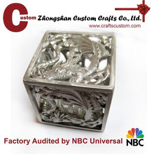 Custom engraved logo 12mm dice supplier