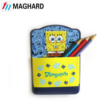 Maghard Magnetic product leader customized free design pen Holder with rubber magnet for office convenience