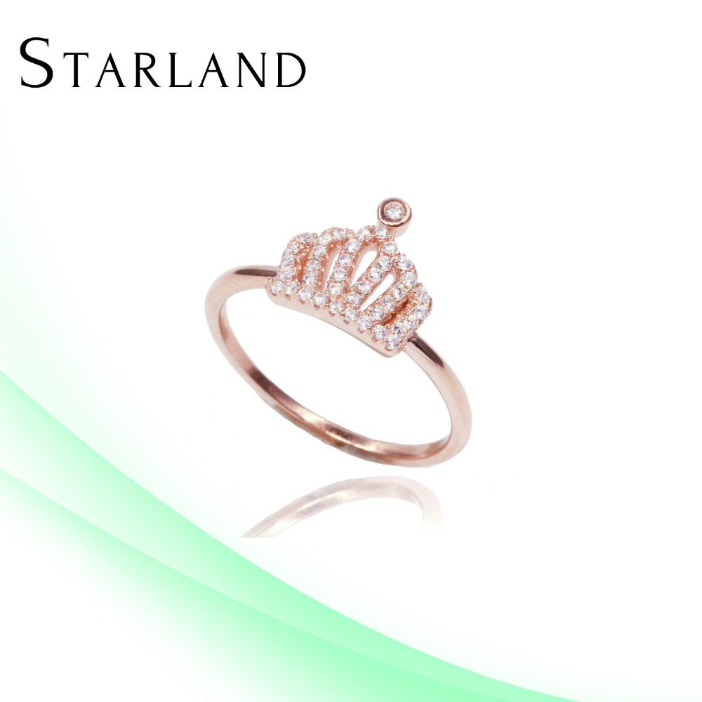 Starland 14 karat gold Factory Price Hot Sell Silver Ring Jewelry wholesale