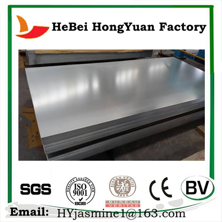 Q195 Price of Density of Galvanized Steel Sheet Per Pound